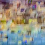 Galerie Ahlemann zeigt ein abstraktes Foto von Ralf Lindenau in der Kategorie Abstraktes in verschiedenen, überwiegend hellen Farbtönen