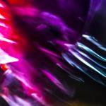 Galerie Ahlemann zeigt ein abstraktes Foto von Ralf Lindenau in der Kategorie Wahnbild in bunten Farben
