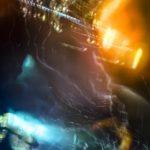 Galerie Ahlemann zeigt ein abstraktes Foto von Ralf Lindenau in der Kategorie Wahnbild in diversen Farbtönen