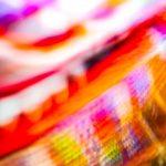 Galerie Ahlemann zeigt ein abstraktes Foto von Ralf Lindenau in der Kategorie Wahnfarben in überwiegend helleren, bunten Farbtönen