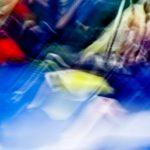 Galerie Ahlemann zeigt ein abstraktes Foto von Ralf Lindenau in der Kategorie Wahnmoves in bunten Tönen