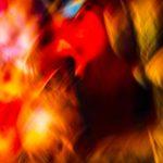 Galerie Ahlemann zeigt ein abstraktes Foto von Ralf Lindenau in der Kategorie Wahnmoves in bunten Farben