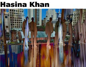 """Galerie Ahlemann stellt die Fotokünstlerin Hasina Khan mit ihrem Werk """"SFO - San Francico Display Dummies"""" vor."""
