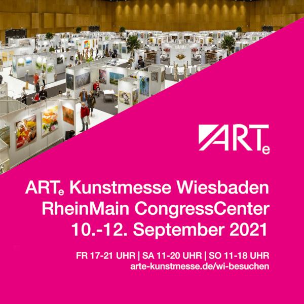 ARTe Wiesbaden 10. - 12. September 2021 RheinMain CongressCenter, Stand E2