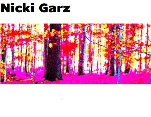 """Galerie Ahlemann stellt die Fotokünstlerin Nicki Garz mit ihrem Werk """"Fall at the Roundabout - pink"""" vor."""